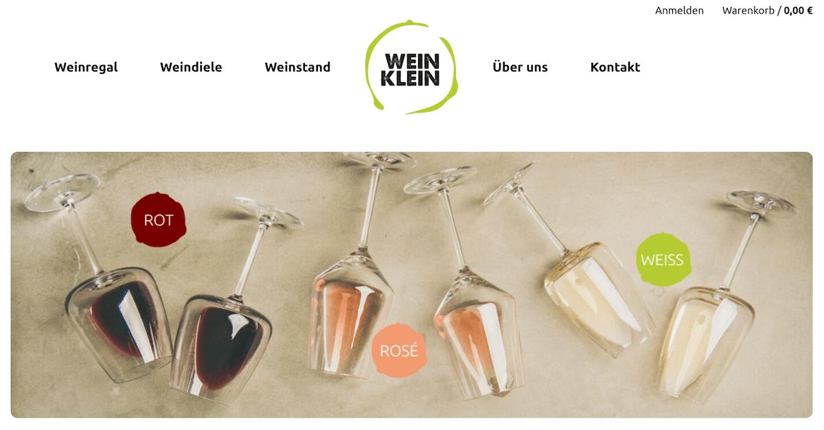 KleinWeinHomepage